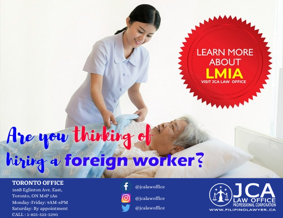 Get the Labour Market Impact Assessment (LMIA) as easy as 1-2-3!