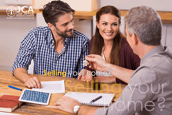 home selling real estate closing - JCA Law office