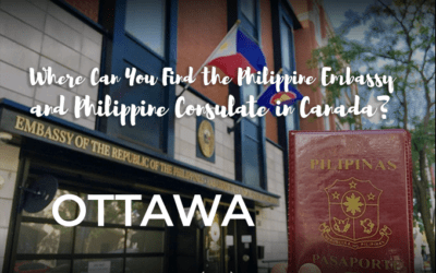 Where Can You Find the Philippine Embassy and Philippine Consulate in Canada?
