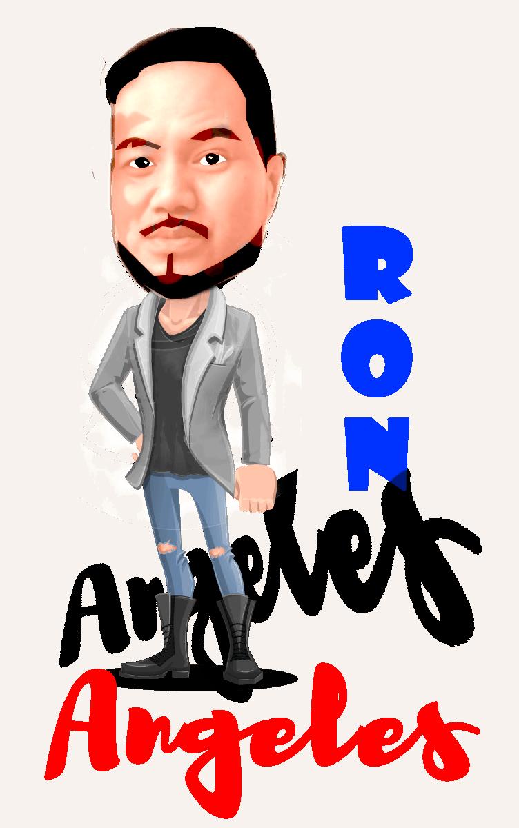 Filipino lawyer RON ANGELES