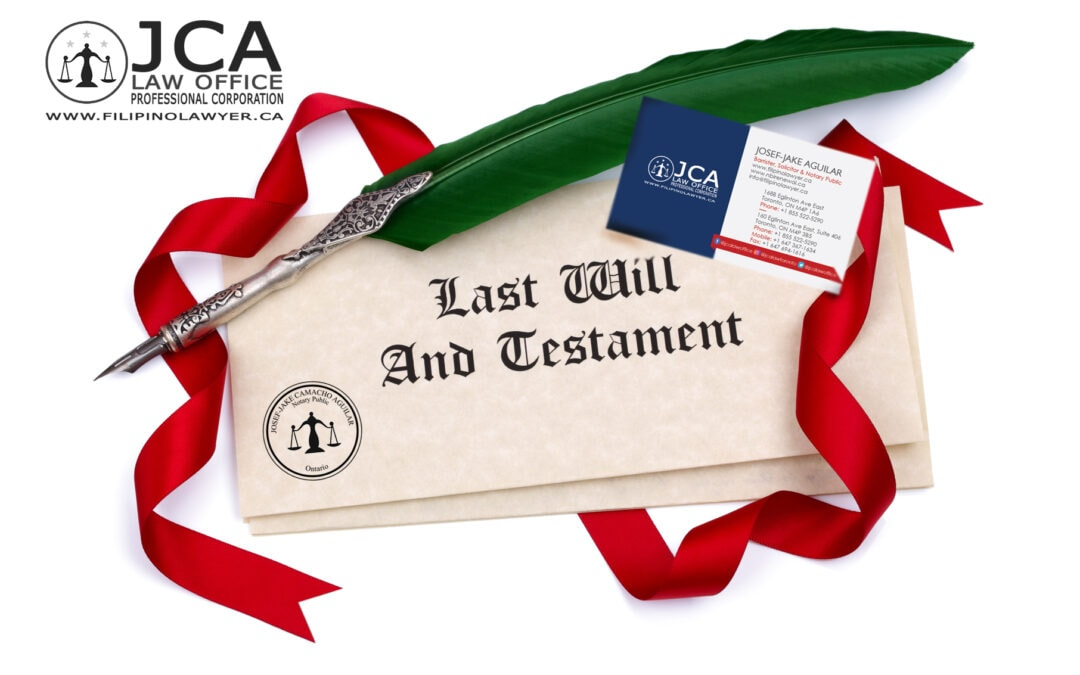 Why last will, power of attorney for property & personal care and health care directive (living will) matters?