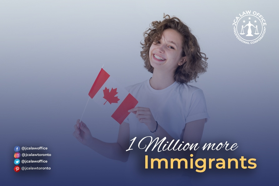 Canada to add 1 million immigrants over the next three years