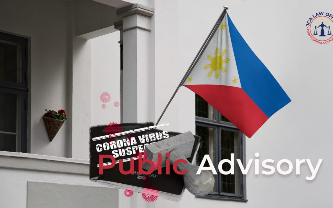 Clients with pending NBI & PSA NSO application