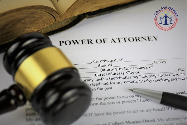Power of Attorney Last Will