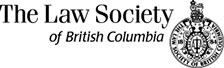 The Law Society of British Columbia logo
